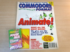 Commodore Format - Issue 56 + Cover Tape