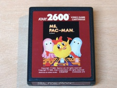 Ms Pac-Man by Atari - Different Label