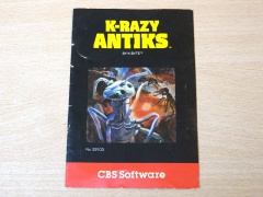 K-Razy Antics Manual