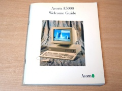 Acorn A5000 Welcome Guide