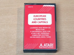 European Countries And Capitals by Atari