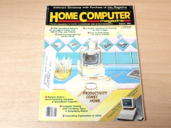 Home Computer Magazine - August 1984