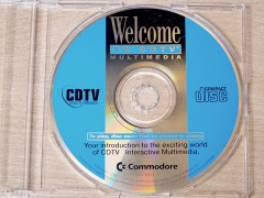 CDTV Welcome Disc and Caddy