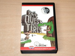 BC's Quest For Tires by Sierra / Aackosoft - Dutch Issue