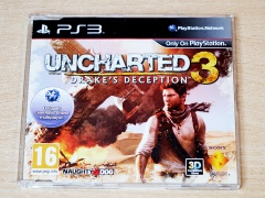 ** Uncharted 3 Drake's Deception by Sony - Promo