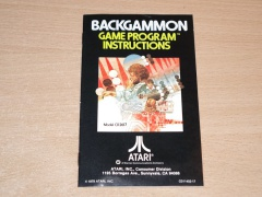 Backgammon Manual