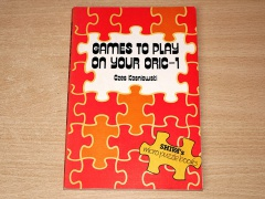 Games To Play On Your Oric 1